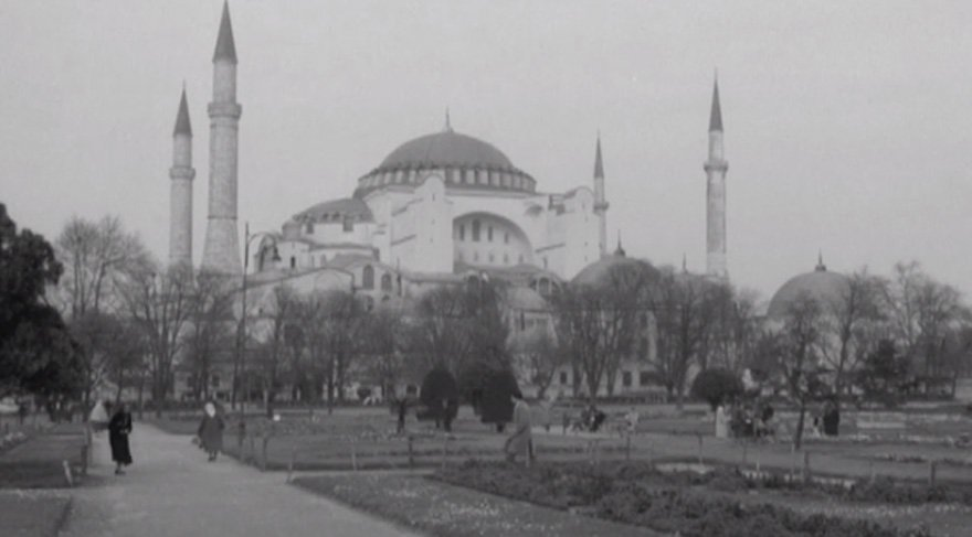 BBC arşivlerinden çıkan 1958 yılının muhteşem İstanbul görüntüleri