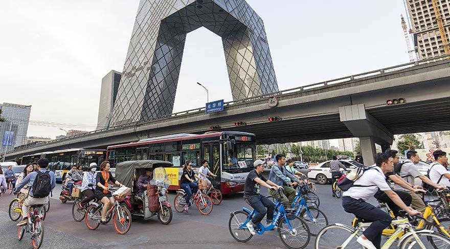 Beijing'de bisikletlere özel otoyol inşa edilecek