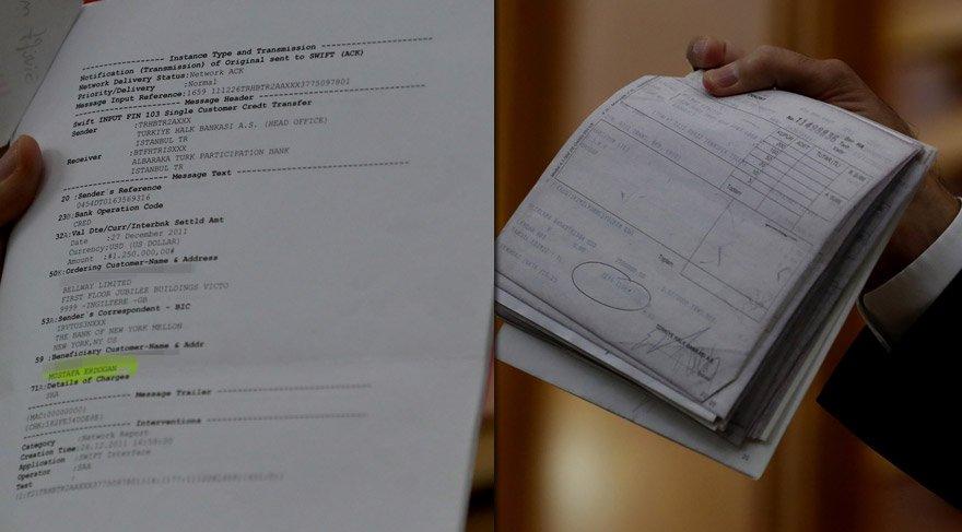 İşte Kemal Kılıçdaroğlu'nun açıkladığı belgeler