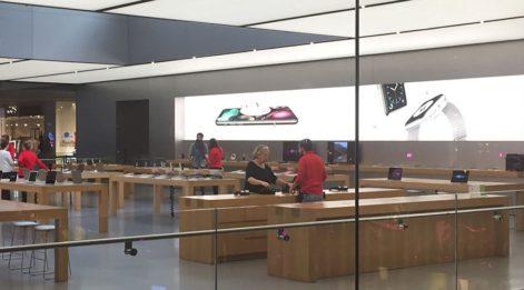 Apple Store'da iPhone X tenhalığı
