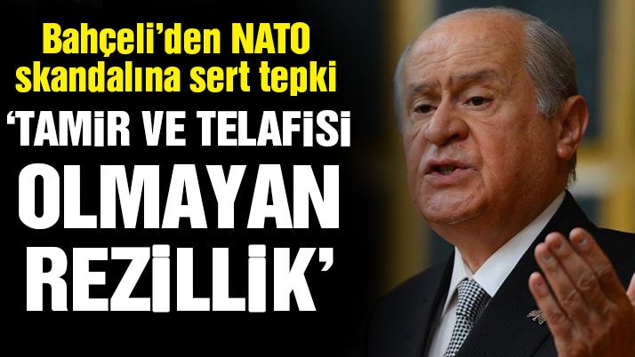 Bahçeli'den NATO'ya sert tepki