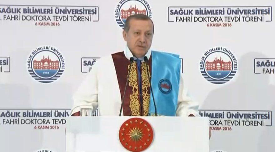 Erdoğan: İslam dünyası üzerinde kirli bir senaryo uygulanıyor