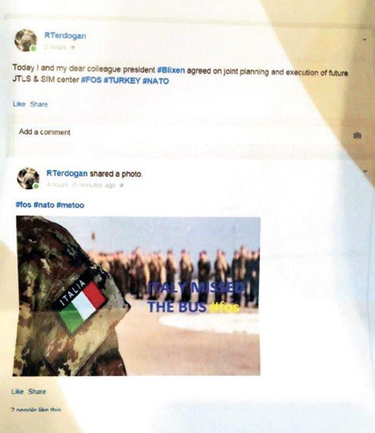 Erdoğan adına açılan sahte hesaptan yapılan bir başka paylaşım