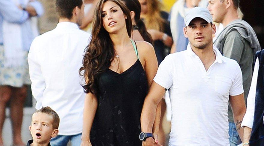 Wesley Sneijder 'İstanbul benim için çok özel'