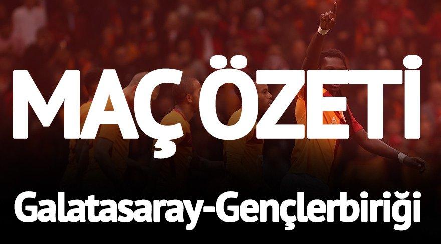 Galatasaray Gençlerbirliği maç özeti izle! Adeta gol yağdı… GS Gençlerbirliği geniş özet ve Galatasaray maçı golleri…