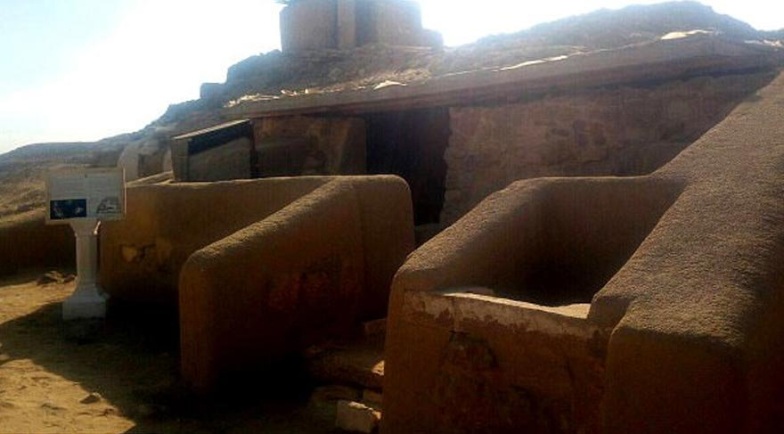 'Lanetli mezar' ilk kez ziyarete açılıyor