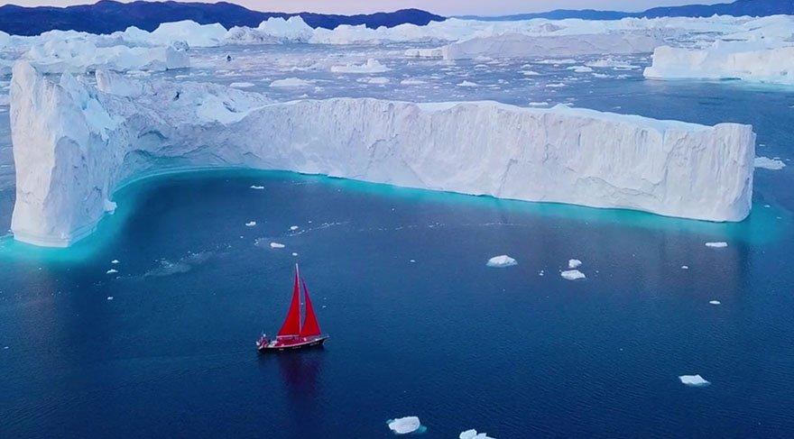 Grönland'a yaptığı seyahati belgeselleştirdi