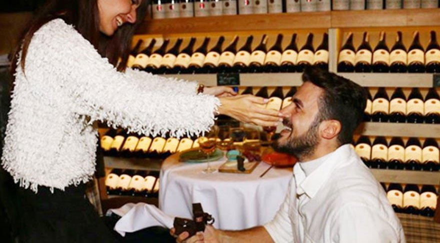 Gurur Aydoğan, evlilik yolunda ilk adımı attı