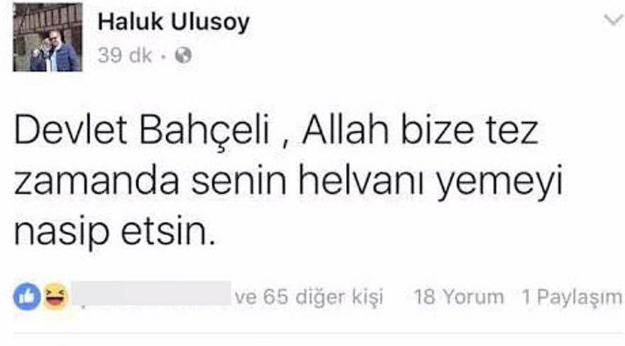 İYİ Parti Kocaeli İl Başkanı'nın 'Bahçeli' paylaşımına tepki