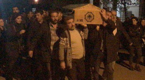 Terörist cenazesine katılan HDP'liler hakkında flaş gelişme