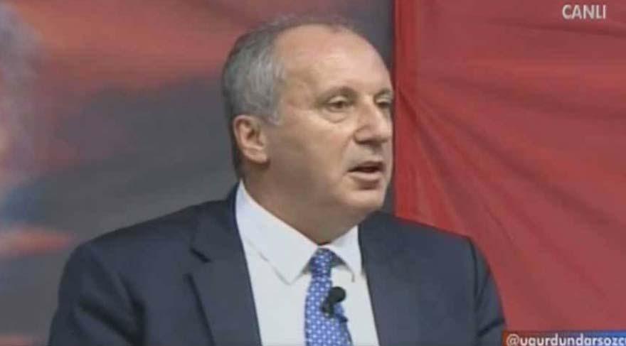 CHP'li İnce'den canlı yayında Erdoğan'a kritik soru