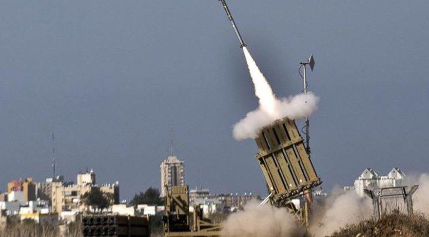 """İsrail doğalgaz sahalarını """"Demir Kubbe"""" ile koruyacak"""