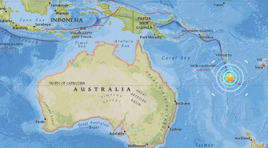 Pasifik'te 7 büyüklüğünde deprem! Tsunami vuruyor…