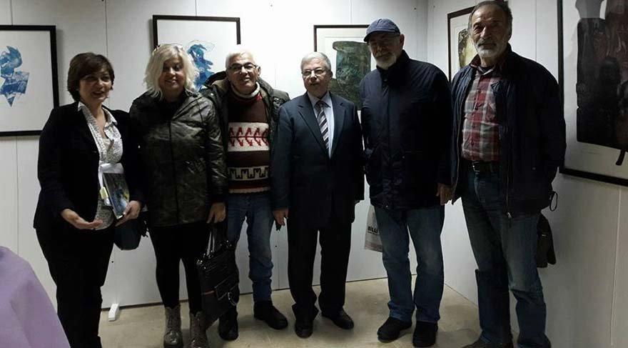 Muğla Sıtkı Koçman Üniversitesi'nde karma sergi açıldı