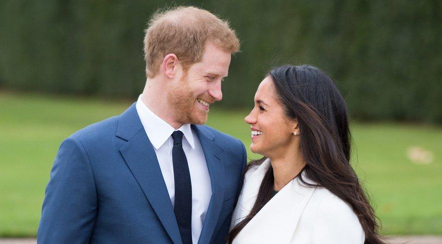 Prens Harry ve Meghan Markle nişanlandı. İşte Meghan'ın kıyafeti!