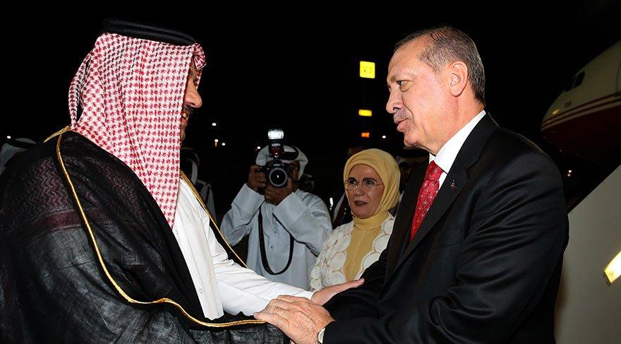 Erdoğan Katar'da! Heyette dikkat çeken isim
