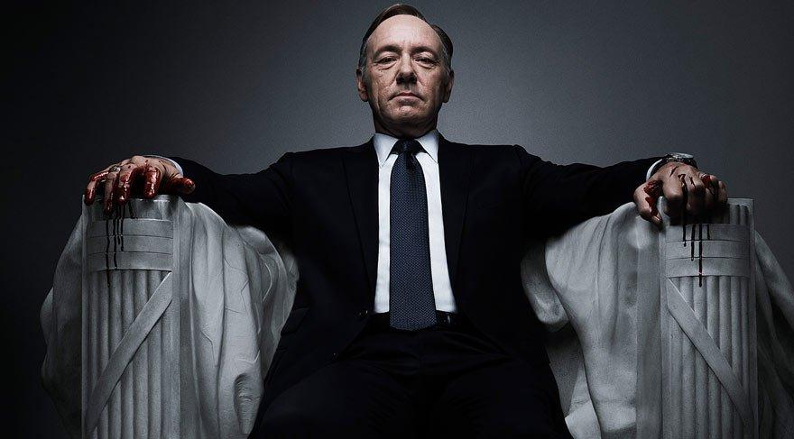 Dünyaca ünlü House of Cards dizisi taciz iddiasıyla çalkalanıyor! Çekimler durduruldu!