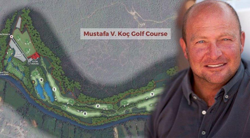 Mustafa V. Koç'un adı bu golf sahasında yaşayacak
