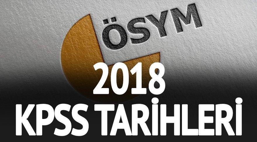 2018 KPSS sınavı ne zaman yapılacak? İşte sınavın, başvuru ve sonuç tarihleri…