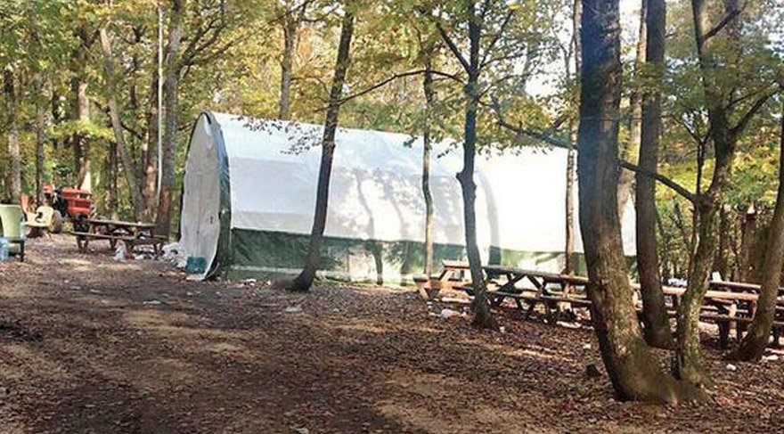 Belgrad Ormanı'nda çadır kumarhanesi!