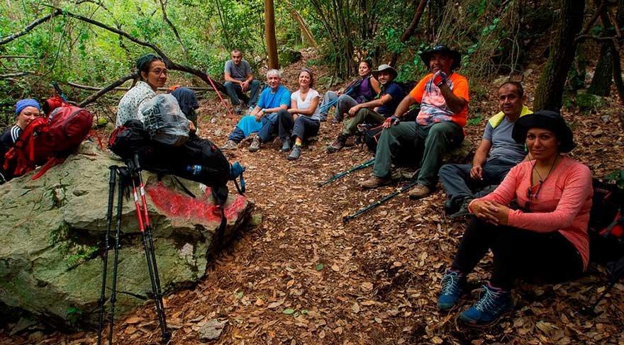 Likya Yolu'nda 'farkındalık' etkinliği