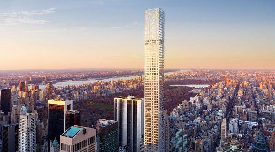 Dünyanın en yüksek konut binasına ait lüks daire görüntülendi