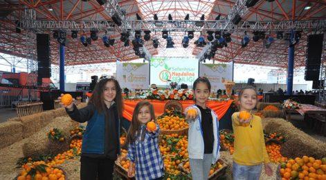 Seferihisar'da Mandalina Şenliği'ne 20 bin kişi katıldı
