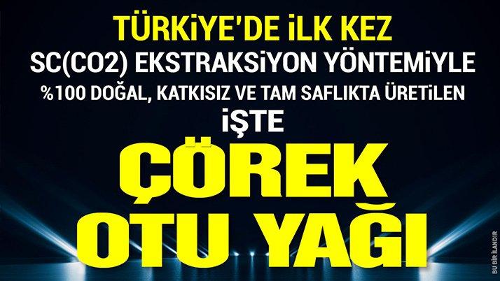 TÜRKiYE'DE iLK KEZ