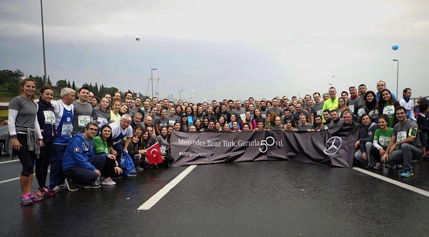 250 kişiyle katıldı 151 bin TL'den fazla bağış topladı