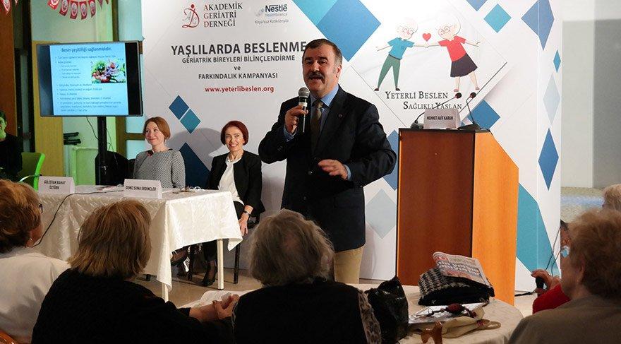 Prof. Dr. Mehmet Akif Karan, sağlıklı ve mutlu bir yaşlılığa hazırlığın 5 özel formülünü verdi.