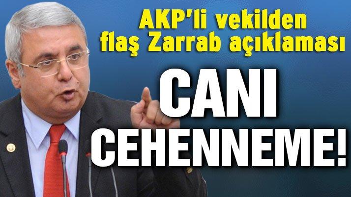 AKP'li Metiner: Zarrab'ın canı cehenneme!