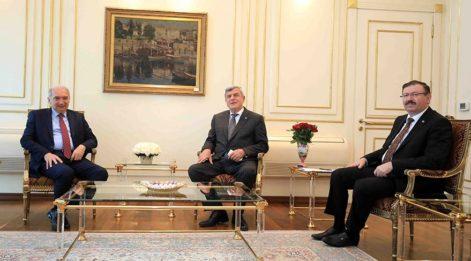 Yeni başkanlar ayın toplantıda konuştu