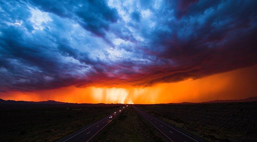 Gökyüzü belgeseli için binlerce kilometre yol gitti