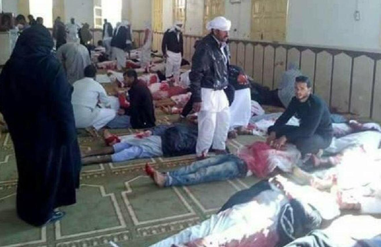 Son dakika... Mısır'da Cuma Namazı kana bulandı: Çok sayıda ölü ve yaralı...