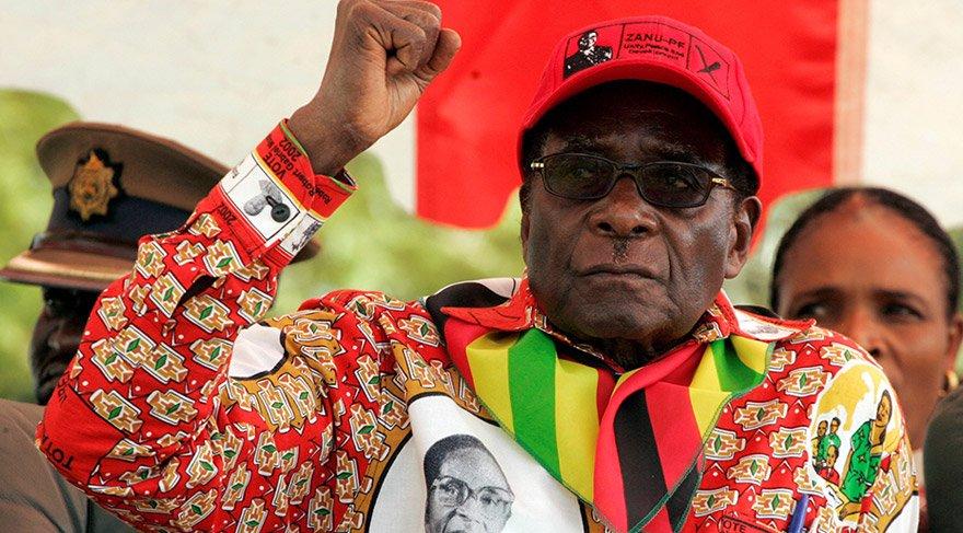 Mugabe görevinden alındı