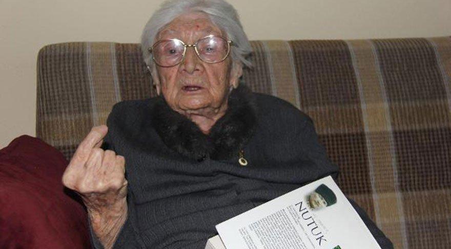 102 yaşındaki Mülkime Öğretmen: Öğrencilerinize Atatürk'ü öğretin