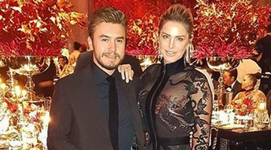 Mustafa Ceceli'nin eşi Selin İmer'in kıyafet tercihi dikkat çekti