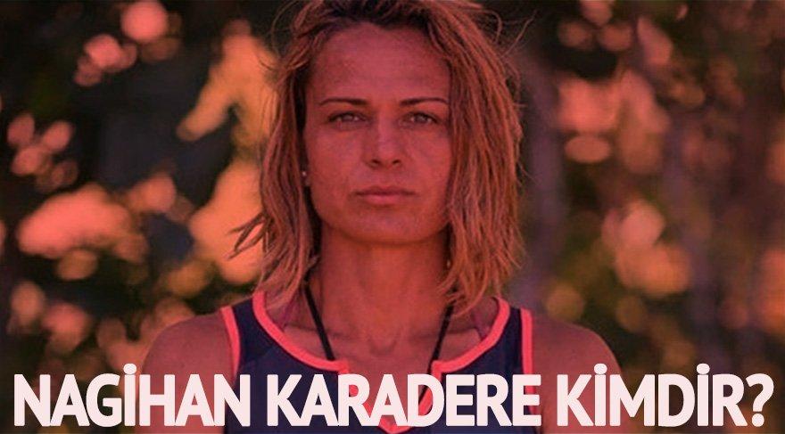 Nagihan Karadere kimdir? Survivor 2018 Ünlüler Takımı'nda yarışacak...