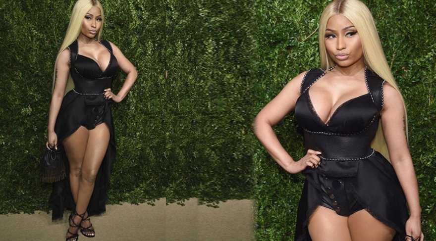 Nicki Minaj'dan cesur seçim