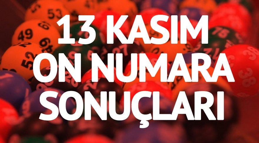 İşte On Numara çekiliş sonucu! MPİ On Numara sonuçları: 320 bin lira bir kişiye! 13 Kasım