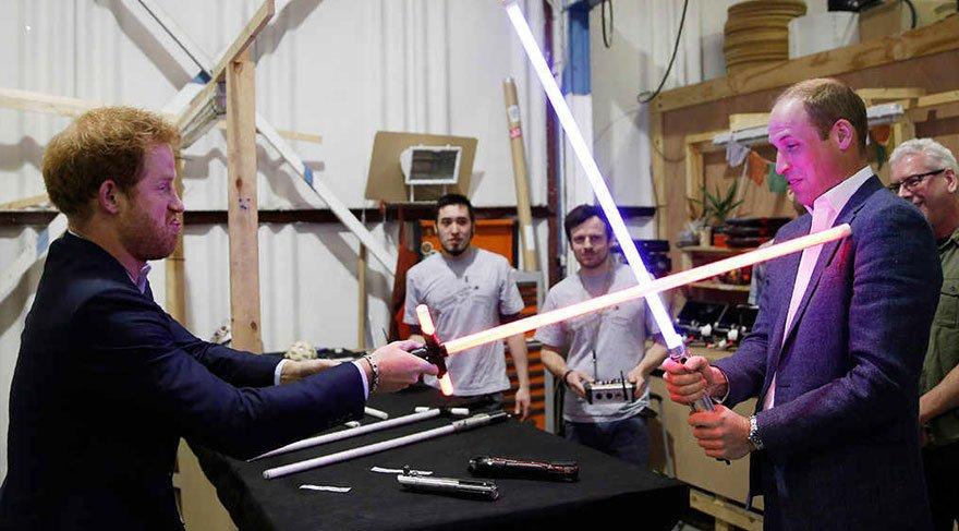 Star Wars'ta prens sürprizi!