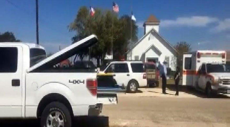 ABD'den son dakika haberi... Teksas'da kilisede katliam: 26 ölü 24 yaralı