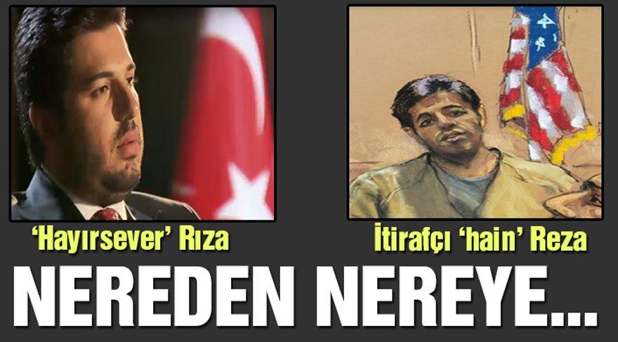 Rıza Sarraf itirafçı Reza Zarrab oldu