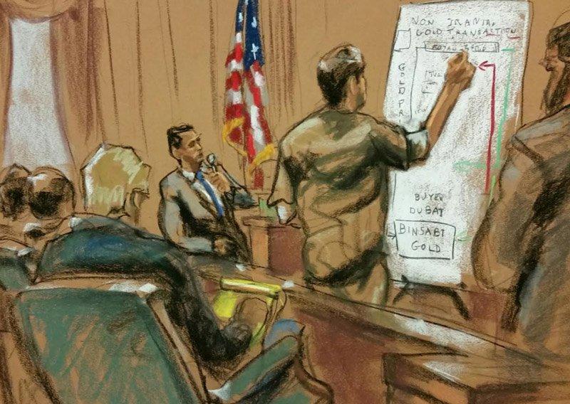 Zarrab dünkü duruşmada, yaptığı işleri ders anlatır gibi anlattı.