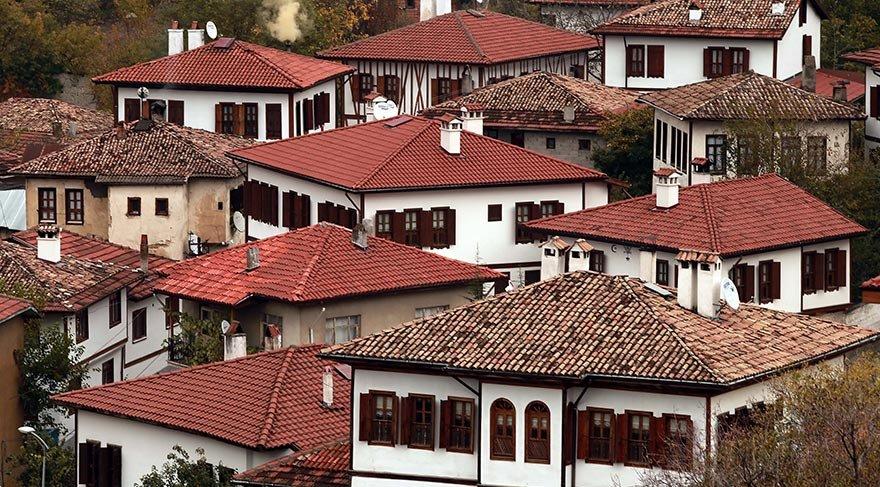 UNESCO'nun 'Dünya Kültür Mirası' listesindeki Safranbolu evleri