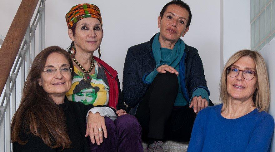 "Dört kadın sanatçının ""Hafif Uyku""su"