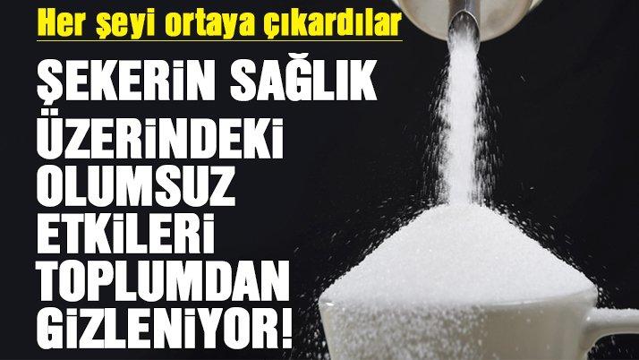 İşte şekerin sağlık üzerindeki olumsuz etkileri