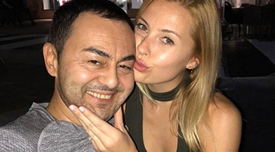 Serdar Ortaç eşi Chloe Loughnan'ı ikna etti