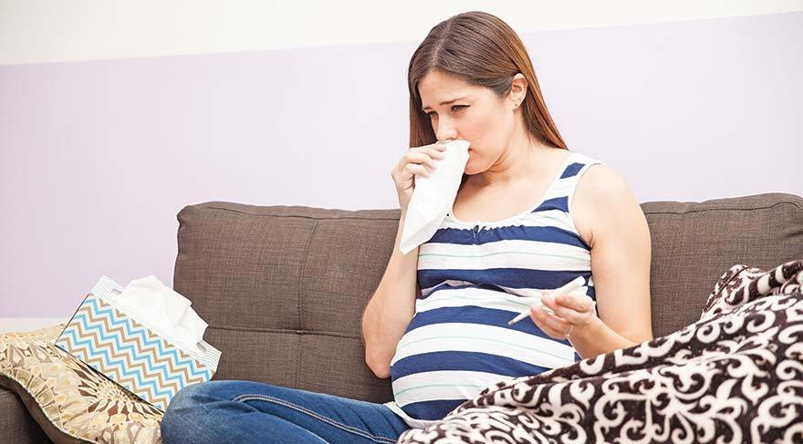 Hamilelikte grip bebeğe zarar verir mi?
