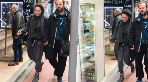 Sibel Tüzün yeni aşkı Aytun Gelgin ile görüntülendi